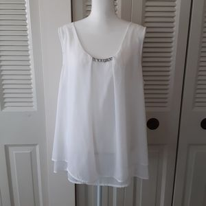 Ny collection women's white top